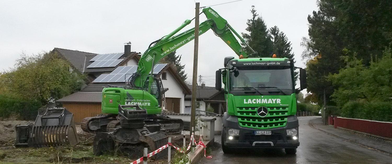 Abbrucharbeiten Lachmayr Abbruch GmbH Schöffelding